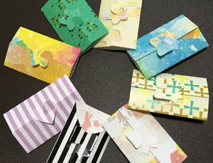 3つ折りプチカード